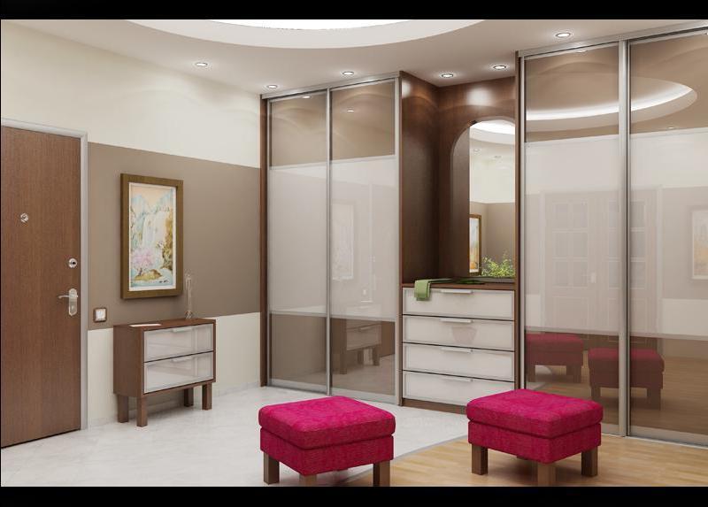 Дизайн шкафов-купе в спальню фото