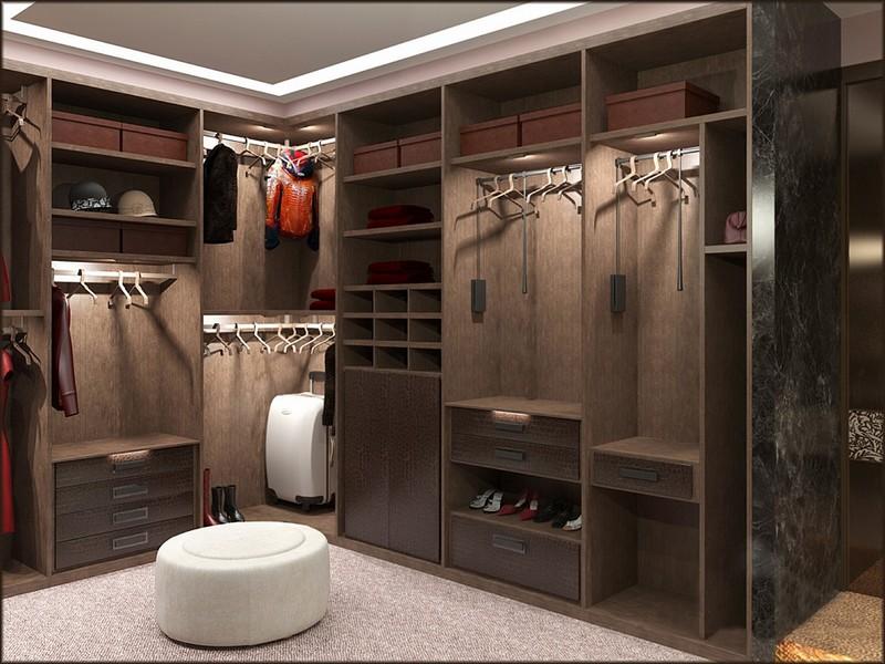 Встроеные шкафы и гардеробные считаю